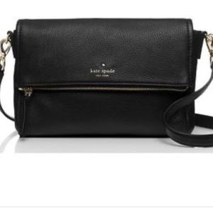 Kate Spade black Cobble Hill Clark shoulder bag
